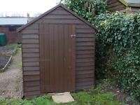Used shed in good condition 8x6