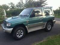 1998 -2000 shogun 2.8 td swb wanted (flare wheel arched)
