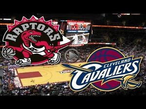 Toronto Raptors vs Cleveland Cavaliers!! **SECTION 117** OCT 28!