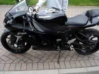 Kawasaki ninja zx6r 2007 5800 miles
