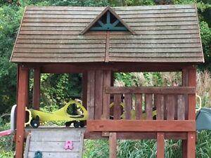 Cedar play structure  Belleville Belleville Area image 2