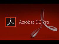 Adobe Acrobat Pro DC Full Version (PC & MAC ) FULL VERSION WITH KEY
