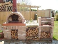 Wanted someone to build us a BBQ and pizza oven