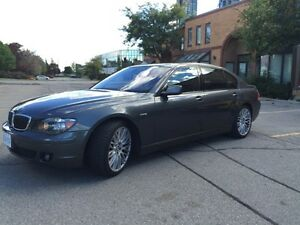 2008 BMW 7-Series Black Sedan