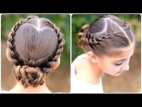 Mobile Children's Hairstylist Dutch French Braids From £15