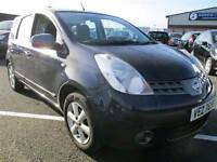 2007 NISSAN NOTE 1.4SE 5DR HATCH