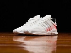 Adidas EQT Support ADV shoes (white/turbo red) (worn once) 9.5