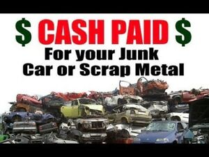 Buying scrap and unwanted vehicles any condition running or not