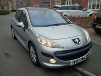Peugeot 207 SE 1.6HDi DIESEL 5dr - MOT 9th August 2017 - Only 2 Owners - TRADE COST CAR