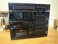 JVC vintage stereo system