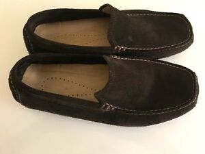 Banana Republic brown Swede shoes