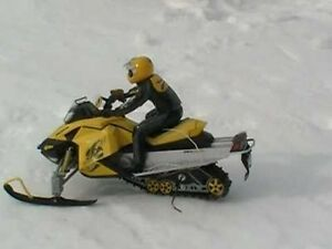 wanted RC Snowmobile Skidoo's any condition