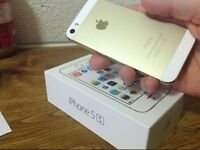 Unlocked iPhone 5s - Gold - Boxed