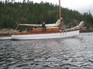 1967 Classic teak and mahogany Sloop
