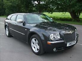CHRYSLER 300C 3.0 CRD V6 AUTOMATIC TOUR GAPHITE GREY 2010 10 REG 5 DOOR ESTATE