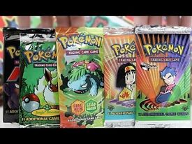 Looking for old Pokemon Booster Packs