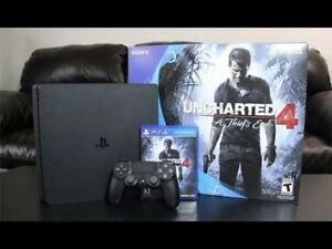 Playstation 4 Slim 500GB and Controller