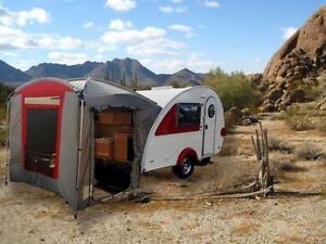 Clamshell tent for T@b 320 trailer Tab vr tente  cuisinette