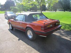 1984 Ford Mustang Convertible (TRADE )