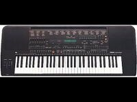 YAMAHA PSR 5700 electric keyboard with extras