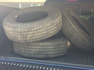 M/S MICHELIN TIRES AND RIMS FOR SALE