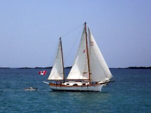40 foot Wooden Ketch for Sale