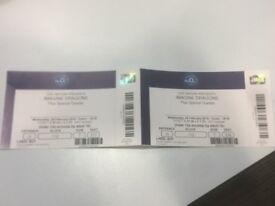 2 x Imagine Dragons Tickets - Block 112. Wed 28th Feb London O2