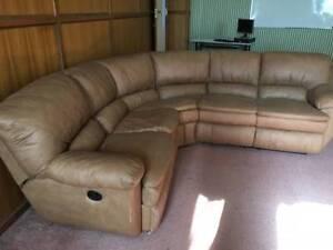 'L'- Shaped Reclining Sofa Footscray Maribyrnong Area Preview