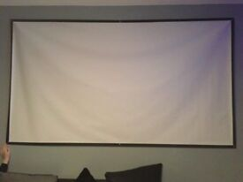 "100"" projector screen material"