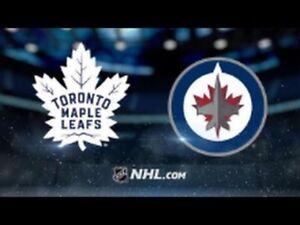 Toronto Maple Leafs vs Winnipeg Jets - 3 pairs