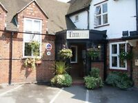 Live in couple needed for family run Pub/Hotel near Heathrow airport - bar/kitchen/hotel staff role