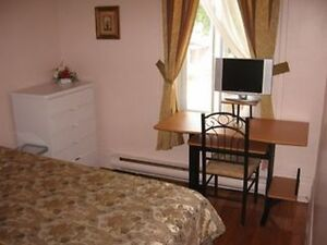 Three nice rooms Belles chambres Metro Frontenac.Ville Marie""