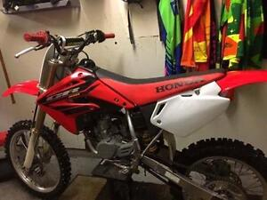 Excellent condition big wheel expert model cr85r