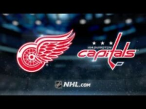 Detroit Red Wings vs Washington Capitals - 2 pairs - Make Offer
