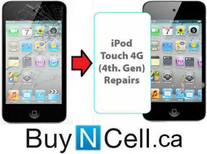 iTOUCH 4 AND 5 REPAIR ON THE SPOT - 6 REPAIR CENTERS +WARRANTY