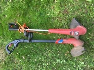 Two Weed Trimmers
