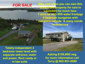 Income Property or InLaw Suite.