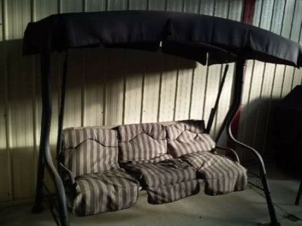 relaxing furniture. OUTDOOR SETTING 3 SEATER CANOPY SWING Cranbourne North Casey Area Preview Relaxing Furniture
