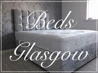 Bed, Big Mattress, Headboard + Base, all for £175!