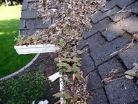 Get winter ready! Eavestrough/gutter cleaning or repair