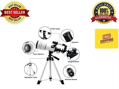 ToyerBee Telescope for Kids &Adults &Beginners70mm Aperture 300mm Astronomica...