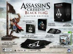 Assassin's Creed IV Black Flag édition collector complète