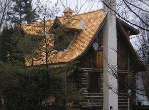 White Cedar Roofing Shingles