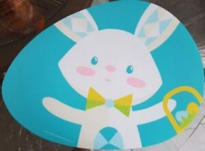 Bunny Place mats for Dining table - Set of 4 BRAND NEW