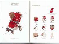 "Maclaren Grand Tour Lx Umbrella Single Seat Stroller Pushchair ""RRP£620"""