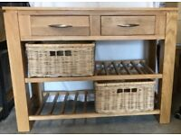 Solid Oak sideboard only £200