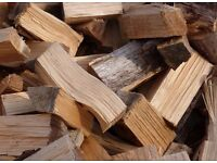 Truck load of firewood logs for sale well seasoned top quality hardwood fire wood dry ready to burn!