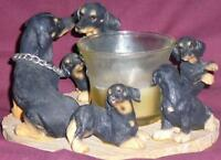 Dachshund gifts: t-shirt, circle, Sandicast sculptures