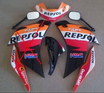 Honda CBR250R Repsol Fairings/Panels