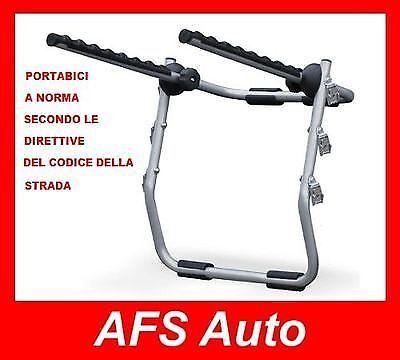 PORTABICI POSTERIORE 3 BICI FIAT 500X ANNO 2016 PER 3 BICI UOMO...